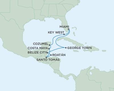 SINGLE Cruise - Balconies-Suites Seven Seas Mariner November 15-26 2019 Miami, FL to Miami, FL