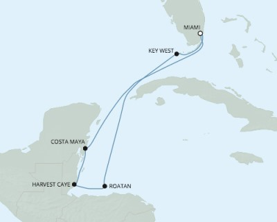 SINGLE Cruise - Balconies-Suites Seven Seas Mariner - RSSC January 4-11 2020 CRUISE Miami, FL to Miami, FL