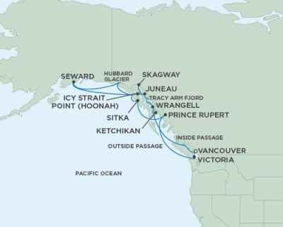 Singles Cruise - Balconies-Suites Seven Seas Mariner - RSSC May 24 June 7 2020 Cruises Vancouver, Canada to Vancouver, Canada