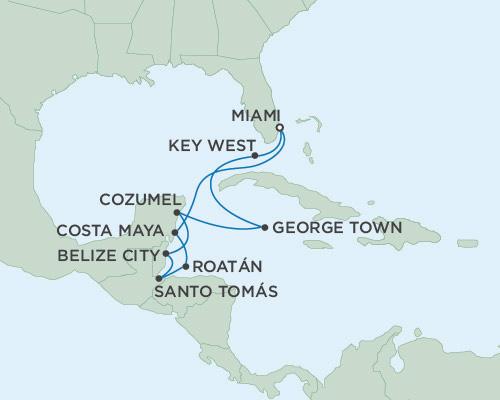 Radisson Luxury Cruises -  Navigator February 9-19 2021 Miami, Florida to Miami, Florida
