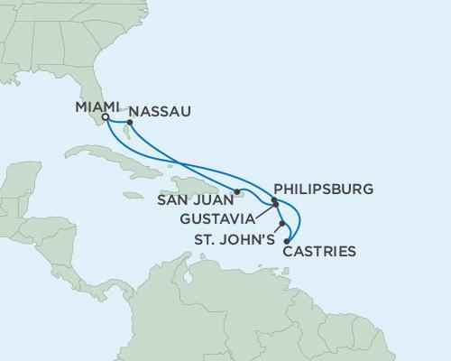 Radisson Luxury Cruises -  Navigator February 29 March 10 2016 Miami, Florida to Miami, Florida