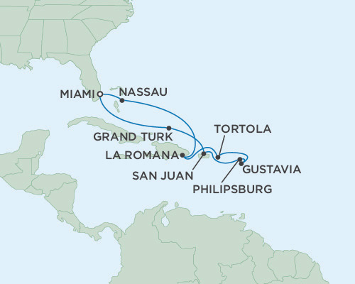 Radisson Luxury Cruises -  Navigator February 9-19 2016 Miami, Florida to Miami, Florida