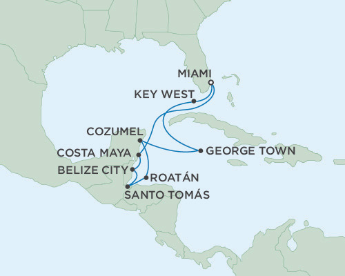 Radisson Luxury Cruises -  Navigator January 30 February 9 2016 Miami, Florida to Miami, Florida