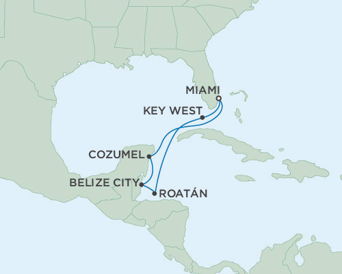 Radisson Luxury Cruises -  Navigator March 10-17 2016 Miami, Florida to Miami, Florida