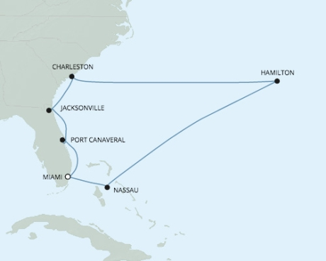 Just Regent 7 Cruises Navigator - RSSC May 13-23 2024 Cruises Miami, FL United States to Miami, FL United States