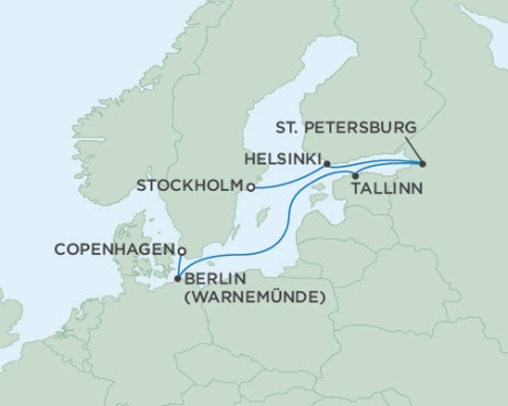 SINGLE Cruise - Balconies-Suites Seven Seas Voyager September 5-12 2019 Stockholm, Sweden to Copenhagen, Denmark
