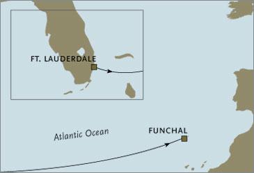 Regent Seven Seas Navigator Cruises 2006 Fort Lauderdale to Madeira