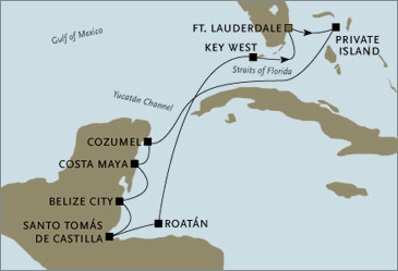 Luxury Cruises Fort Lauderdale to Fort Lauderdale