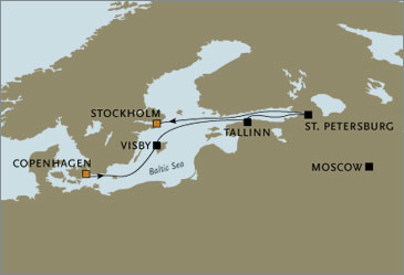 Deluxe Cruises - Seven Seas Navigator 2006 July