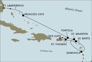 Deluxe Cruises -  Navigator 2006 San Juan to Fort Lauderdale March