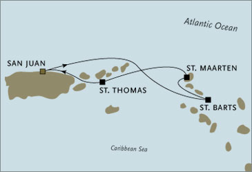 Deluxe Cruises - Seven Seas Navigator 2006 San Juan March