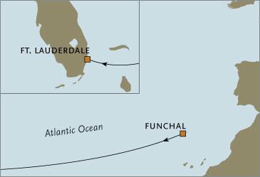 Deluxe Cruises - Seven Seas Navigator 2006 November