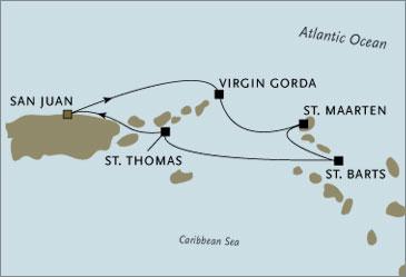 Deluxe Cruises - Seven Seas Navigator 2006 San Juan to San Juan