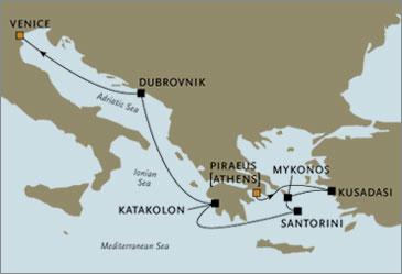 Deluxe Cruises - Seven Seas Navigator 2006 September