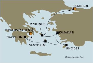 Deluxe Cruises - Seven Seas Navigator 2006 September 9-16