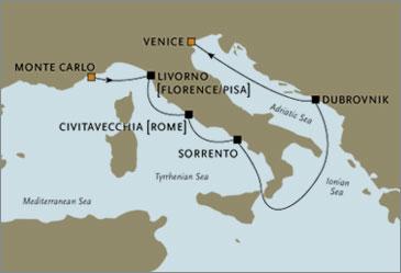 Deluxe Cruises - Seven Seas Navigator 2006 Venice Italy