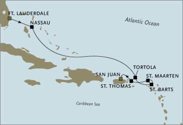 CROISIERE DE LUXE tout-inclus - Regent Seven Seas Navigator Croisiere 2006 Barts