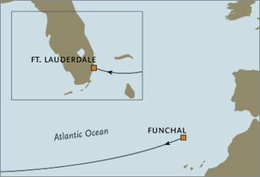 CROISIERE de luxe - Regent Voyager Fort Lauderdale Funchal