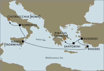 Seven Seas Voyager RSSC October