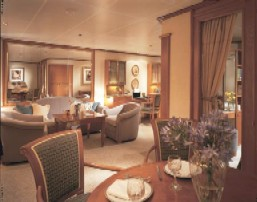 Charters, Groups, Penthouse, Balcony, Windows, Owner Suite, Veranda - Luxury Silversea Cruises Silver Suite