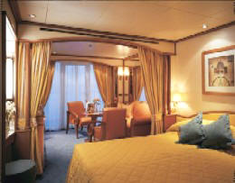 Charters, Groups, Penthouse, Balcony, Windows, Owner Suite, Veranda - Luxury Silversea Cruises Veranda Suite