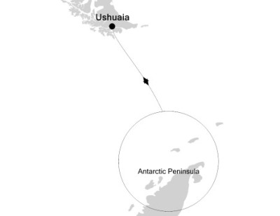 Luxury Cruises Just Silversea Silver Explorer February 6-16 2027 Ushuaia, Argentina to Ushuaia, Argentina
