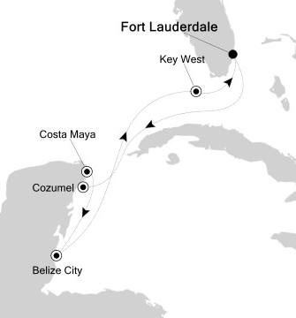 1 - Just Silversea Silver Whisper December 11-19 2017 Fort Lauderdale, FL, United States to Fort Lauderdale, FL, United States