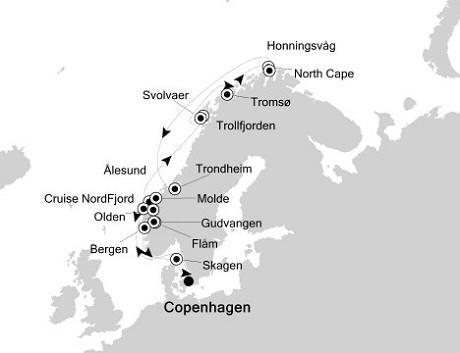 1 - Just Silversea Silver Whisper June 17 July 1 2016 Copenhagen to Copenhagen