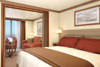7 Seas LUXURY Cruise Silversea Silver Spirit Veranda Suite
