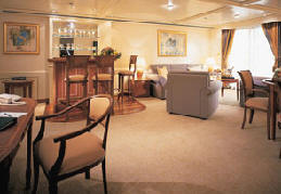 Owner Suite, Penthouse, Grand Suite, Concierge, Veranda, Inside Charters/Groups Silversea Cruise World Cruise 2020-2021-2022-2023