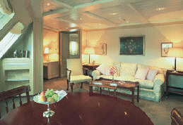 Owner Suite, Penthouse, Grand Suite, Concierge, Veranda, Inside Charters/Groups Silversea Cruise 2020-2021-2022-2023
