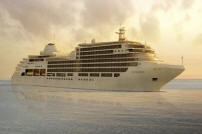 SILVERSEA LUXURY WORLD CRUISES Silver seas Silver Spirit at Sea 2021