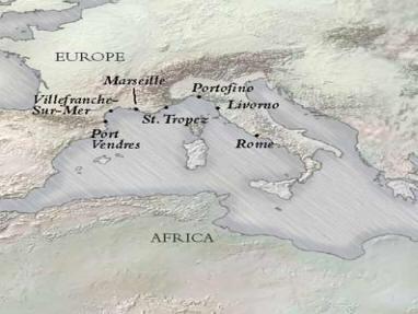 Luxury Rome to Villefranche Tuscan Riviera Silverseas Whisper