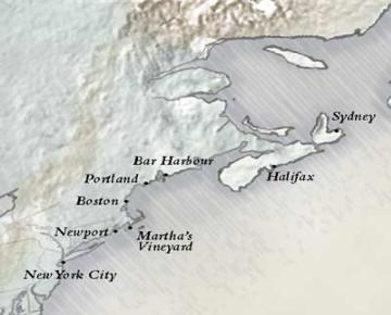 JustSilverseacruises.com Nova Scotia & New England New York to New York