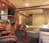 Penthouse, Veranda, Windows, Cruises Ship Charters, Incentive, Groups Cruise Silversea Silver Shadow