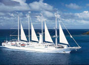 7 Seas Luxury Cruises Windstar  - Wind Star Ship